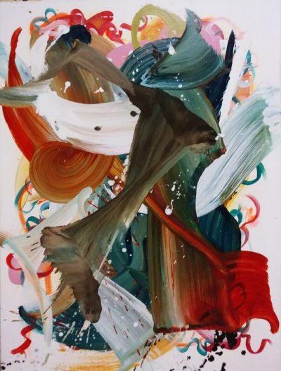 Recast, Entropy Series   Jerry Carniglia   2009   Oil on canvas