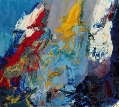 John DiPaolo   Inca   2016   Oil on canvas